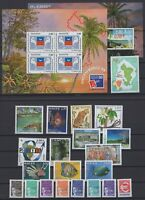 BG142566/ MAYOTTE –Y&T # 62 / 80 - BF1 / BF2 - PA4 MINT MNH – COMPLETE YEAR 1999
