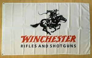 Winchester Rifles and Shotguns Gun NRA 3x5 ft Flag Banner