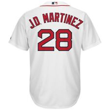 JD Martinez Boston Red Sox Majestic Home White Cool Base Jersey Adult XL