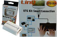 ADATTATORE KIT COLLEGAMENTO OTG SMART PER SAMSUNG GALAXY S3 S4 LINQ OTGSU4 mshop