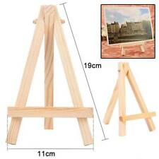 Wooden Easel Wood Artist Easels Display Stand Art Painting Canvas Tripod 11*19cm