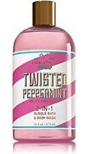 Bath & Body Works Christmas 2-IN-1 Bubble Bath & Body Wash | Twisted Peppermint