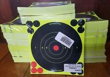 "Birchwood Casey Shoot-N-C 6/"" Adhesive Reactive Targets 100 Pack 1200 Pasters"