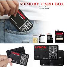 Speicherkarte Aufbewahrungskoffer 16 Slot Micro SD TF Nano Tragetasche Box @#R