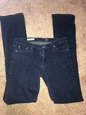 AG Adriano Goldschmied Women's Dark Wash The Ballad Slim Boot Skinny Jeans 29R