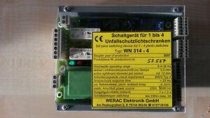 Kardex Lichtschranken-Steuergerät T88 WERAC WN 314-5 Kardex-Id.-Nr. 865675