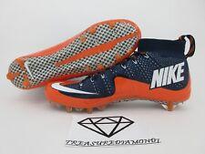 Nike Vapor Untouchable TD Football Cleats Sz 13 Broncos Blue/Orange 707455-406