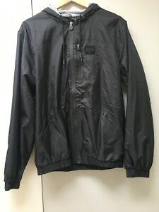 Everlast Black Hooded Rain Jacket, Size: M - Perfect condition