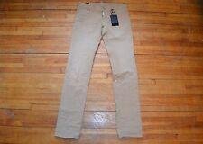 Dsquared² Khaki Beige Painted Wrinkled Wash Faded Denim Slim Jeans S 44 28 - 30