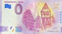 BILLET 0  EURO  BERNKASTEL KUES    ALLEMAGNE 2021  N° DIVERS