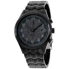 Citizen Chandler Black Dial Stainless Steel Men's Watch CA0625-55E