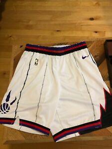 xisnhis Herren Basketball Shorts Retro F/ür Toronto Raptors Size:S-XXL Stickerei Mesh Sports Shorts