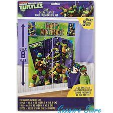 Teenage Mutant Ninja Turtle Birthday Scene Setter Wall Decor party Supply Banner