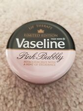 BRAND NEW VASELINE LIMITED EDITION - PINK BUBBLY JELLY LIP THERAPY 20G TIN RARE
