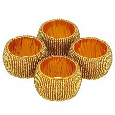 Artist Haat Table Decoration Napkin Rings Set of 4 Home Decoration Gift