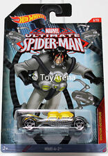 Hot Wheels Marvel Ultimate Spider-Man 2015 What-4-2 1/64 Rare Die-Cast Car