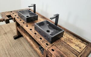 Antique Carpenters Bench Bathroom Vanity unit