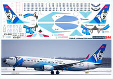 1/144 PAS-DECALS. Decal for Boeing 737-800 NordStar