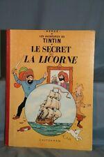 BD Tintin Le secret de la licorne imprimerie Danel