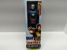"MARVEL - Iron Patriot - TITAN HERO SERIES Iron Man 3 - 12"" Figure - BRAND NEW"