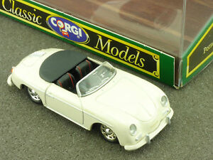Corgi D 743/1 Porsche 356 B Décapotable Top Speedster 1:43 Ovp 1603-30-14