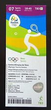 2016 RIO OLYMPIC SUMMER GAMES - TE010 - MENS & WOMENS TENNIS - TICKET STUB