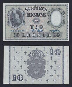 Svezia 10 kronor 1958 FDS-/UNC-  A-01