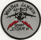 DESERT STORM PATCH - WEE BEE JAMMIN 42ND ECS