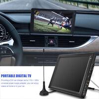 """12.1"""" Pollici Televisore Televisione Portatile Digitale DVB HD TV Player Lettore"""