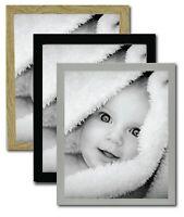Photo Picture Frames Black White Oak Colour, personalised print A1 A2 A3 A4