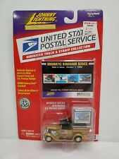 Rare Johnny Lightning USPS 1929 Ford Model A Truck White Lightning Chase Gold