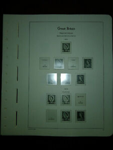 LIGHTHOUSE Hingeless Pages Great Britain Regional 1958-1999 Used  def02