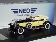 (KI-10-20) Neo Scale Models Rolls Royce Phantom I Newmarket 1929 in 1:43 in OVP