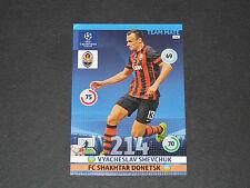 SHEVCHUK SHAKHTAR DONETSK UEFA PANINI FOOTBALL CHAMPIONS LEAGUE 2014 2015