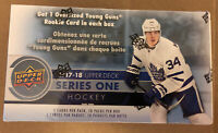 2017/18 Upper Deck Series 1 Hockey Sealed 12 Pack Blaster Box-2 Young Guns