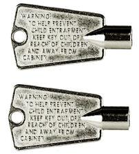 216702900 Freezer Door Key for Frigidaire, Kenmore, GE (2 pack)