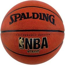 New Spalding 63-250E Street Rubber Womens Outdoor Basketball Size 6 28.5-inch