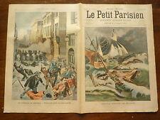 PETIT PARISIEN - 1902  n° 691 naufrage ISLANDE / fusillades BELGIQUE