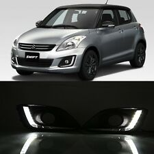 For Suzuki Swift 2014 2015 2x White Tube LED Daytime Day Fog Light DRL Run lamp