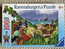 Ravensburger Jigsaw Puzzle PIRATES TREASURE XXL 100 Pc #109777 New Sealed 6+