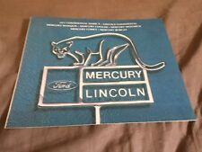 1977 Lincoln Mercury Comet Cougar Marquis Full Line Brochure Catalog Prospekt