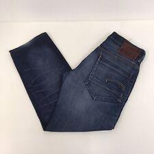 G-STAR New Radar Low Loose Jeans Blue Denim Mens W34 L30