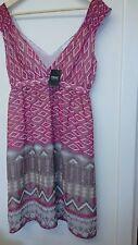 Geometric Regular Size Dresses NEXT