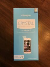 "Spigen iPhone 6 Screen Protector Crystal Hard Surface Compatible 4.7"" 2014 ONLY!"