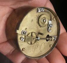 Antique French VAP Brevete SGDG Clock Movement x lantern, table clock VERGE 1830