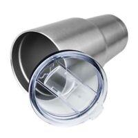 Spill Proof Lid/Top For Steel Tumbler Cups YETI, RTIC, OZARK 20 oz Mug