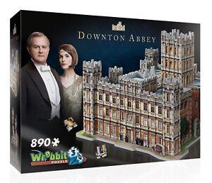 Wrebbit Downton Abbey 890 Pieces 3D Jigsaw Puzzle NEW