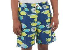 US Polo Assn.Men's Fish Print Swim Shorts Trunks Design Size L