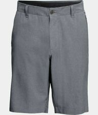Under Armour UA Flat-front Showdown Vented Golf Shorts 1309551 Gray 513 Size 32