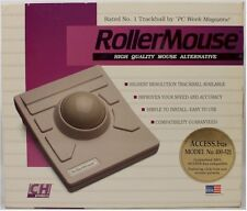 Vintage IBM/PC RollerMouse by CH Products w/ACCESS.BUS 400-521 *NIB*++FREE SHIP!